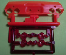 1970 1//2 Camaro Z//28 red tail lights lamps rear panel 1//25 model car part lot GM