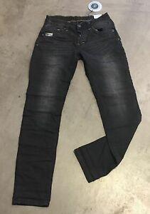 Details zu ORIGINAL BLUE MONKEY Herren JEANS BM4541 Vintage Look Farbe: BLACK