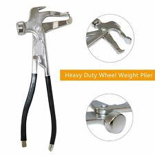 Heavy Duty Wheel Weight Pliers Hammer Tool Car Repair Tire Removal Tools Pliers
