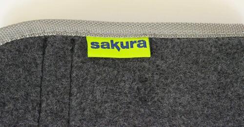 Sakura Large Carpet Car Boot Protection Tidy Organiser Storage Bag Black Grey