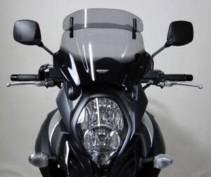 Motorcycle Windshields MRA SUZUKI DL 1000 V-STROM, DD, 2014-2016, form VT, smoke