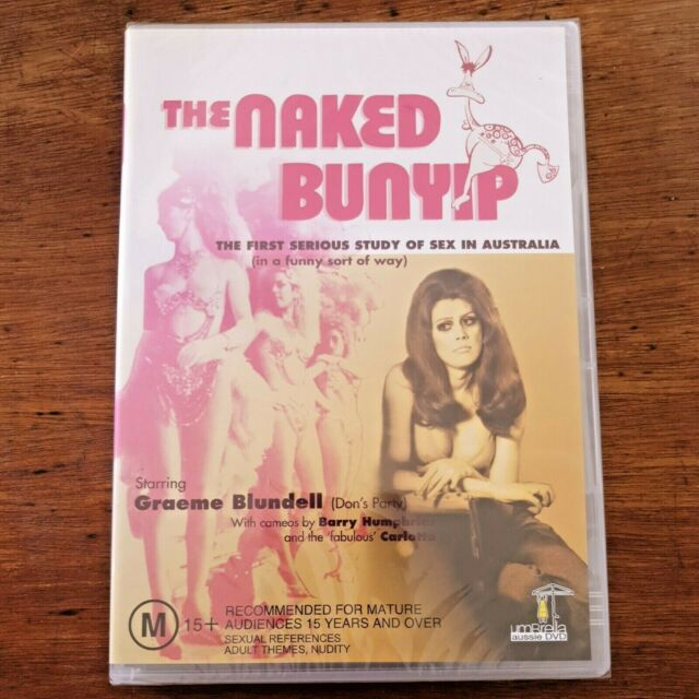 The Naked Bunyip DVD BRAND NEW SEALED R-ALL FREE POST