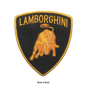 Lamborghini-Car-Brand-Logo-Embroidered-Patch-Iron-on-Sew-On-Badge-For-Clothe-etc