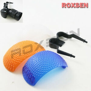 3 Color Pop Up Flash Diffuser Dome For Pentax Olympus Fujifilm Nikon Dslr Camera Frissons Et Douleurs