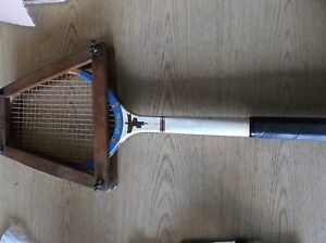 Details About Spalding Lakeside Wooden Tennis Racketvintage
