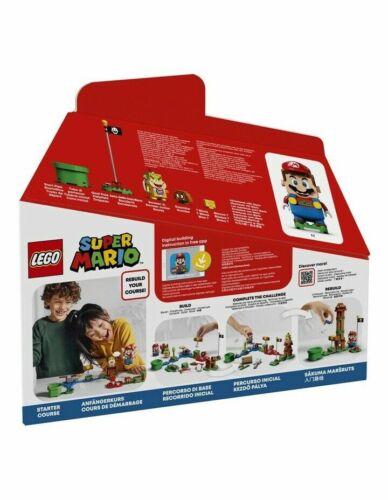 New Lego Super Mario Adventures with Mario Starter Course 231 Pieces Game 71360