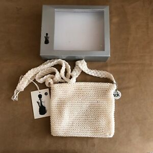 The-Sak-Cross-body-bag-purse-new-in-box-small-6-x-7-woven-ivory