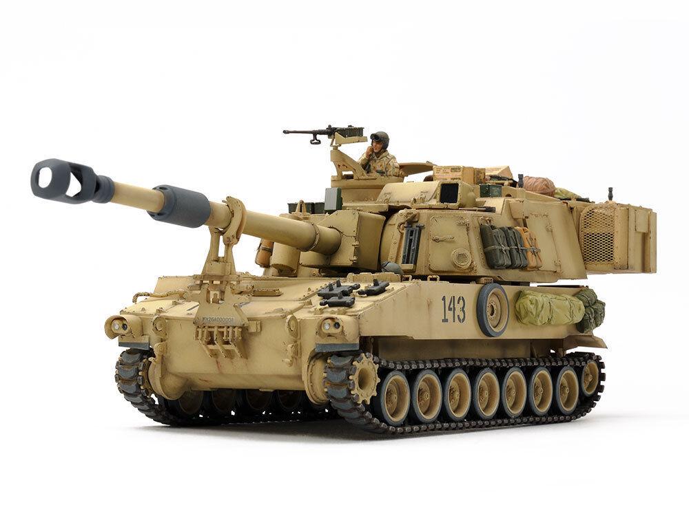 Tamiya 1 35 US Self-Propelled Howitzer M109A6 Paladin (Iraq War)