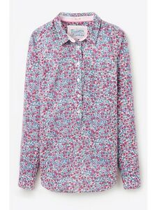 488210609c1b6 Joules Women s Charlotte Pop Over Shirt AW15 - Ditsy Floral - UK 8 ...