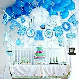 Lucky-Party-Baby-Shower-Decorations-for-Boy-It-039-s-A-BOY-Baby-Shower-Decorations