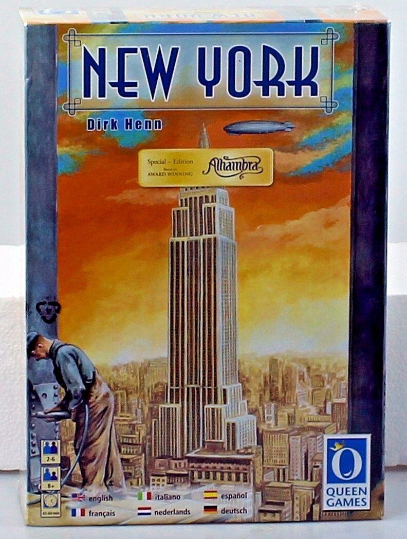 Nuovo York Board Game Multi Language award winning game new Dirk Henn Manhattan