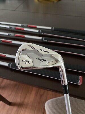 callaway apex pro 19 iron set Kbs C Taper 125 Stiff Plus Golf Pride Align Tour  | eBay