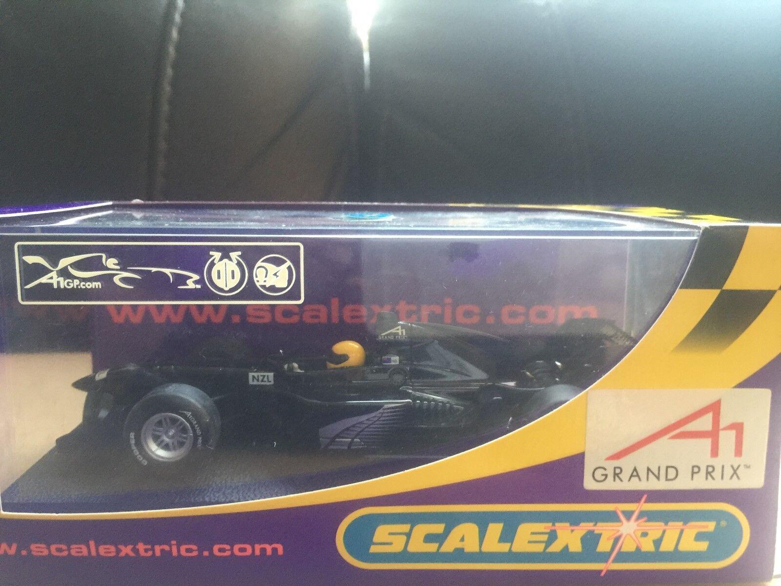 Scalextric A1 GP Team New Zealand Negro  C2741 Muy Raro