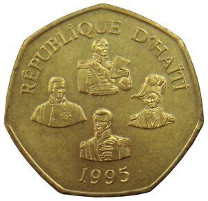 (e9) - Haiti - 5 Gourdes 1995 - Staatsmänner - Unc - Km# 156