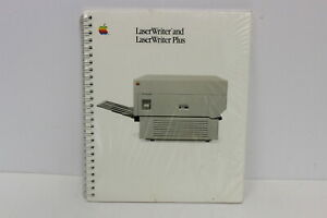 APPLE-LASERWRITER-AND-LASERWRITER-PLUS-MANUAL-030-1296-B-NEW-IN-SHRINK-WRAP