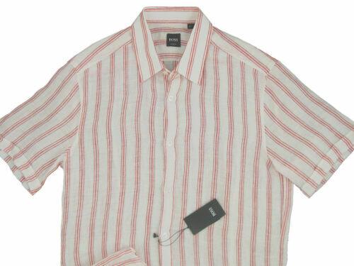 Hugo Boss Mens All Over Pattern Button Down Shirt