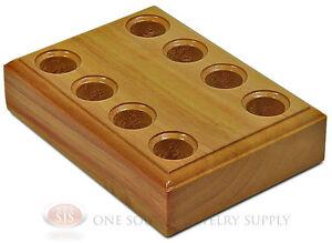 Hardwood Plier Stand Hold 4 Pliers Rack Jewelers Workbench Tool Holder Block