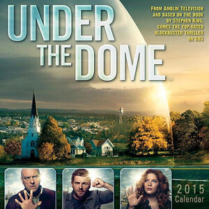 Details about Under The Dome CBS TV Series 12 Month 2015 Wall Calendar NEW  SEALED