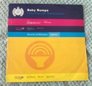 "RARE 12"" Vinyl / Funky Sugar '96 - Baby Bumps /House & Garage 1996"