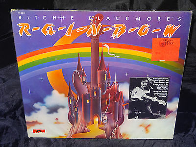 Rainbow Ritchie Blackmore's Rainbow SEALED USA 1975 1ST PRESS LP W/ HYPE STICKER