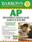 Barron's AP Spanish with MP3 CD and CD-ROM, 8th Edition by Alice G. Springer and Daniel Paolicchi M.A. (2014, Mixed Media, Revised)