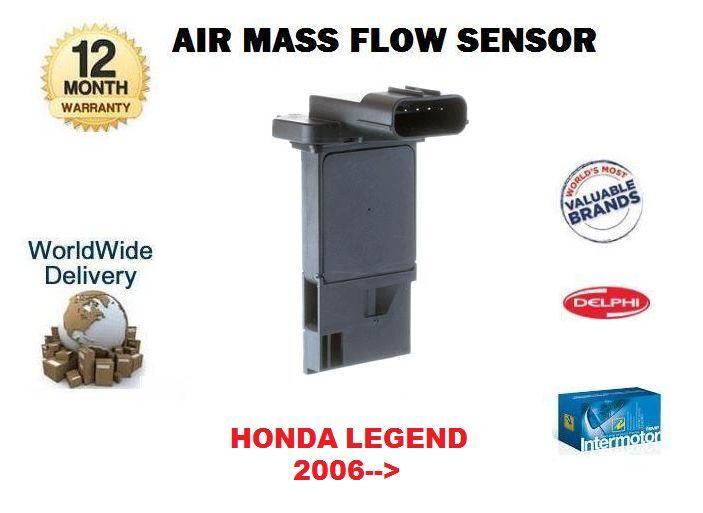Für Honda Legend 3.5 3.7 Vtec V6 Limousine 2006  Neu Luftmassenmesser