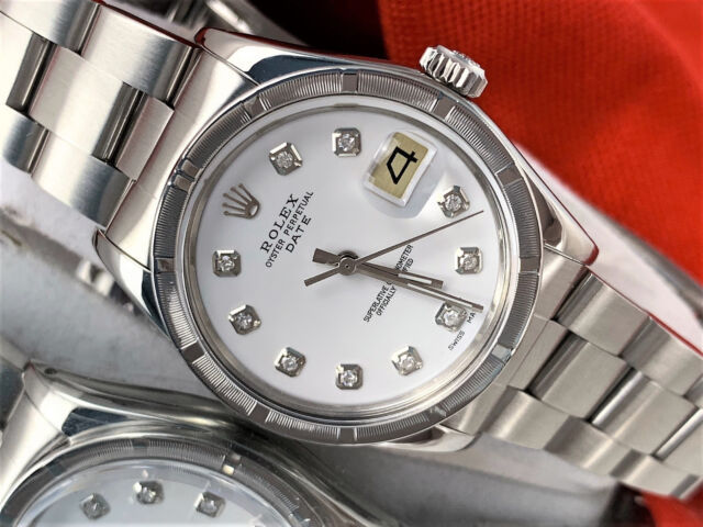 Vintage Rolex Oyster Perpetual Date Ref 1501 Automatic Men S Watch