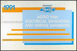 1991 chevy g van sportvan wiring diagram g10 g20 g30 sportvan rh ebay com