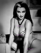 THE MUNSTERS YVONNE DE CARLO LILY MUNSTER SEXY ACTRESS BIKINI PUBLICITY PHOTO