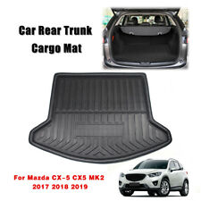 YEE PIN Trunk mat For Maz d a CX-5 2 SUV KF 2017-2019 Boot Liner Side Protection Mat Car Boot Tray Protective Mat for Safe Transportation of Luggage Non-Slip