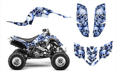 Yamaha Banshee 350 graphics full coverage decal kit #5555 Red Boneyard