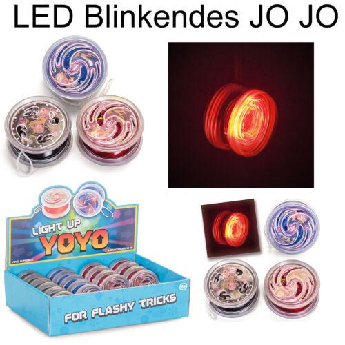 LED Jo Jo Blinkendes Yo Yo Leuchtendes Jo Jo Spielzeug Mitgebsel Geschenk Kinder