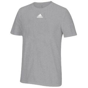 Adidas-Men-039-s-Adi-EQT-Performance-Logo-Grey-Climalite-Performance-T-Shirt