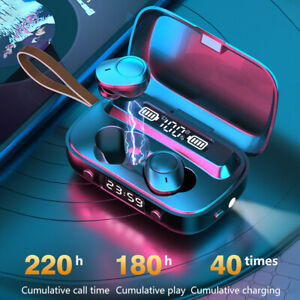 Wireless-Bluetooth-5-1-Earphones-Headphones-TWS-Mini-Earbuds-Waterproof-Headset