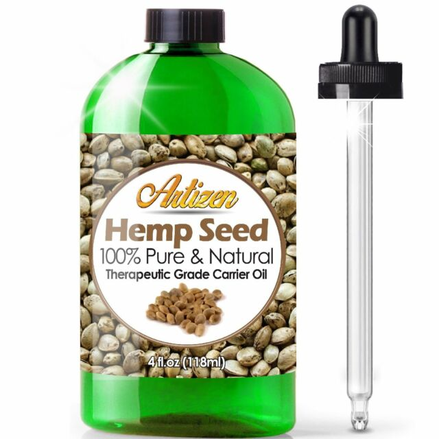 Premium Hemp Oil Extract for Pain Relief, Anxiety, Sleep (PURE, NATURAL) - 4oz