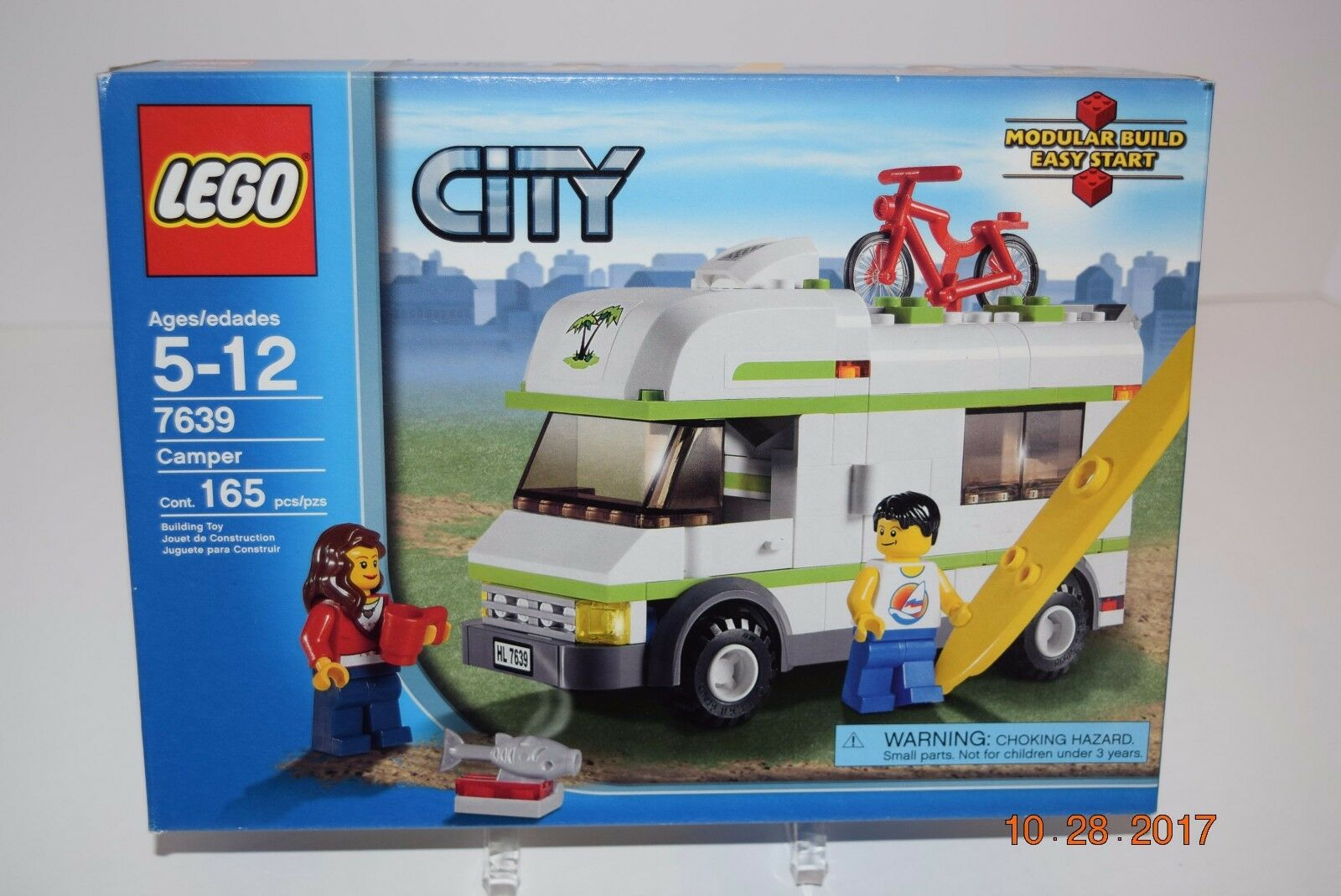 Lego 7639 -- City Camper - 5+,  165 pcs-Sealed-Retirosso - Great Set - NEW--NIB