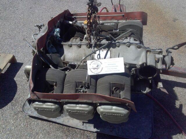 TCM Continental Tsio-520-e Aircraft Engine Core  000 REDUCED