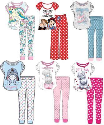 Femmes Filles Teen officiel Hasbro Disney Tatty Teddy Nouveauté Coton Pyjamas Pjs | eBay