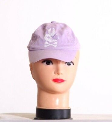 Bello Benetton Kids Girls Cappelli E Berretti Sun Protection 100% Cotone Viola/nero (36)-