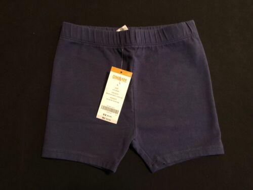 NWT Gymboree Girls Stripes and Anchor Basic Navy Blue Bike Shorts Size 4 /& 5