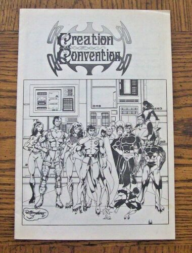 1982 Creation Entertainment Convention Program CAROLINE MUNRO Sci-Fi Comic Art