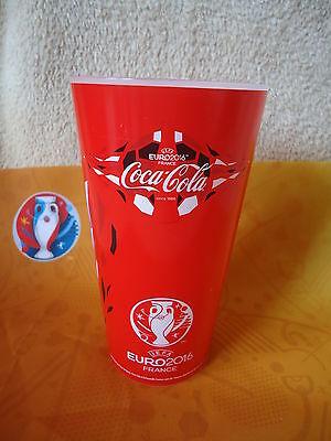 Slowakei Match 13 UEFA Euro 2016 Coca Cola Fan Becher Russland