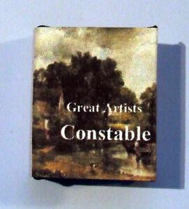 Dollshouse Livre Miniature-john Constable-afficher Le Titre D'origine
