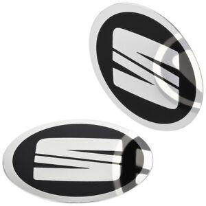 4-SEAT-Nabendeckel-Felgen-Aufkleber-64-mm-Alufelgen-Emblem-Logo-Felgenaufkleber