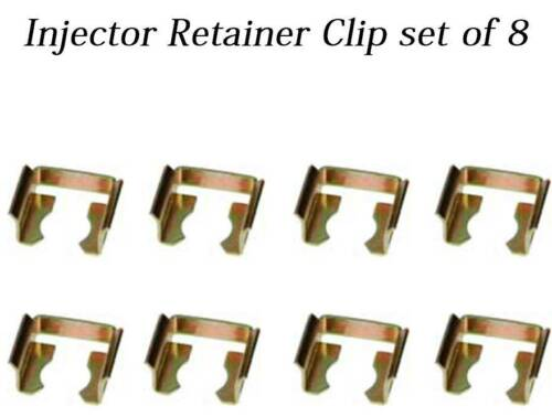 Set of 8 Fuel Injector Locks Retainer Kit Universal Bosch Fuel Rail Clip