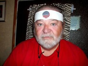 Sweat Band, Featuring an American Flag
