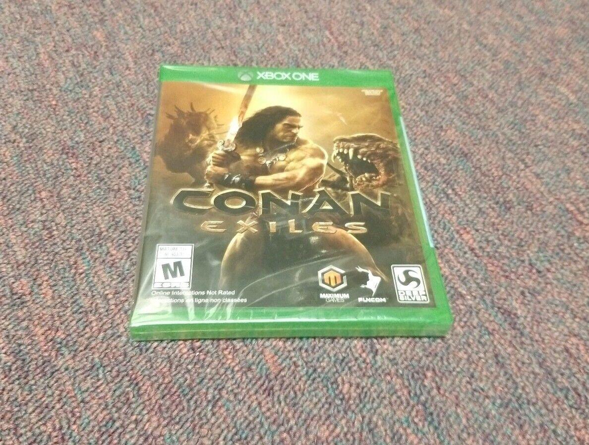 Conan Exiles (Microsoft Xbox One, 2018) Brand New
