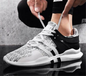Men s Casual Sports Shoes Lace Up Athletic Sneakers Breathable ... 7f9e3db43