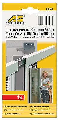 Schellenberg 50843 Beschlagset für Doppel-Tür-Rollo NEU