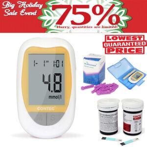 Metre-50pcs-mesure-de-la-glycemie-diabetique-de-moniteur-de-glucose-glucometre